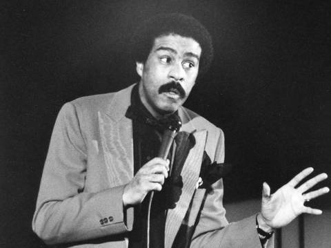 Richard Pryor BW